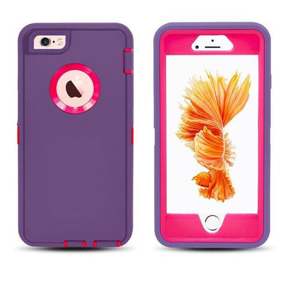 DualPro Protector Case for I5 - Purple & Pink