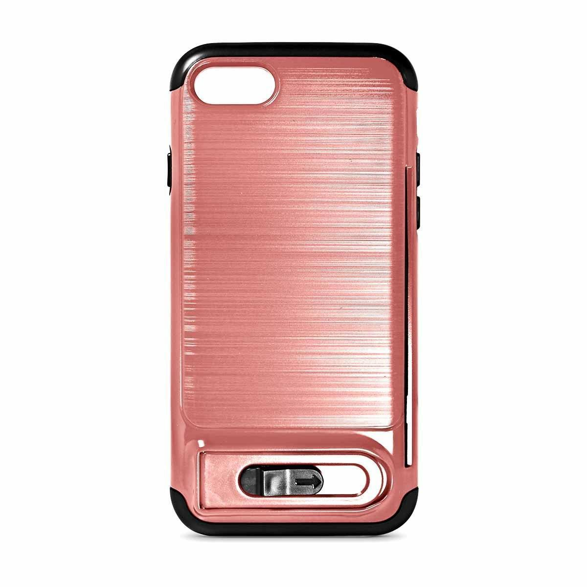 My Card Sliding Case for iPhone 6 - Rose Gold