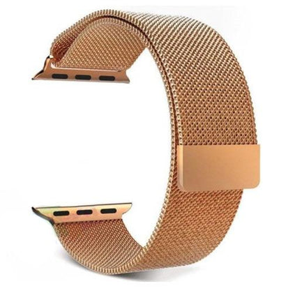Stainless Steel iWatch Band 42/44mm - Champagne Gold