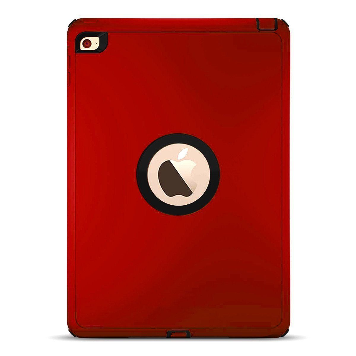 DualPro Protector for iPad 2/3/4 - Red & Black