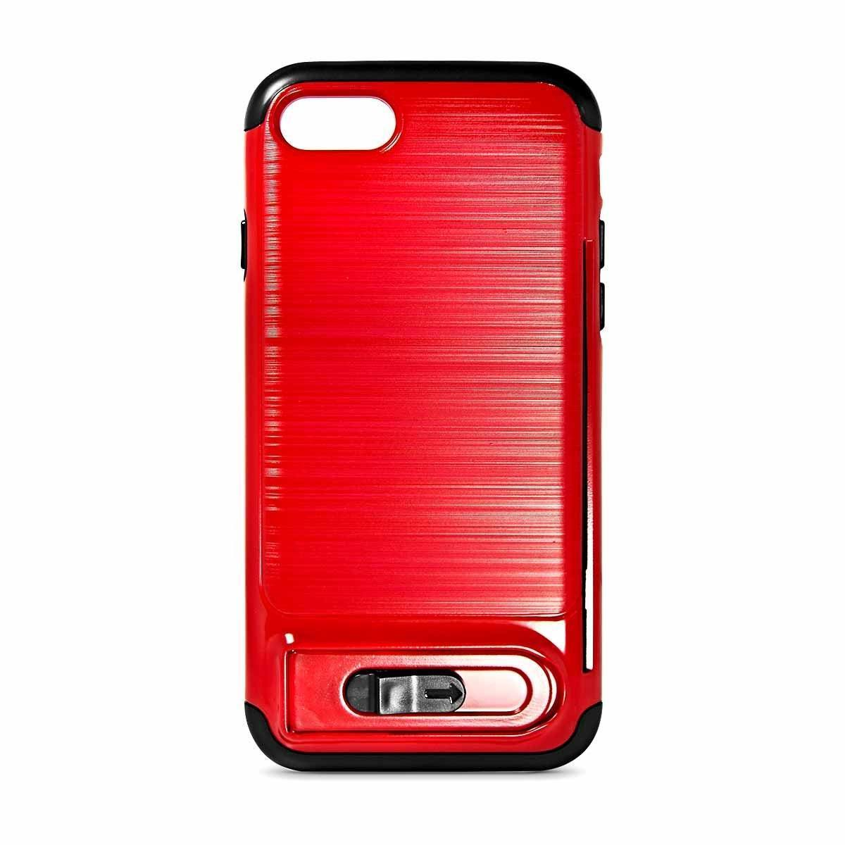 My Card Sliding Case for iPhone 6 - Red