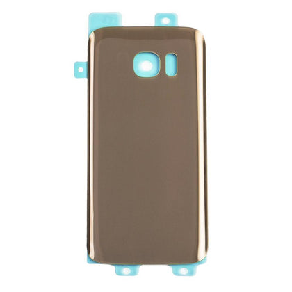 Back Glass For Samsung Galaxy S7 - Gold, Parts, Mobilenzo, MobilEnzo