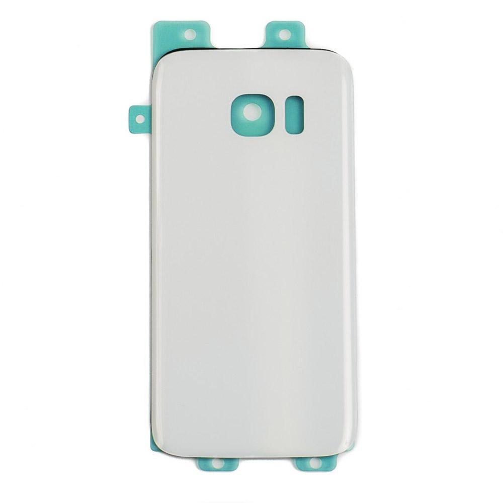 Back Glass For Samsung Galaxy S7 - White