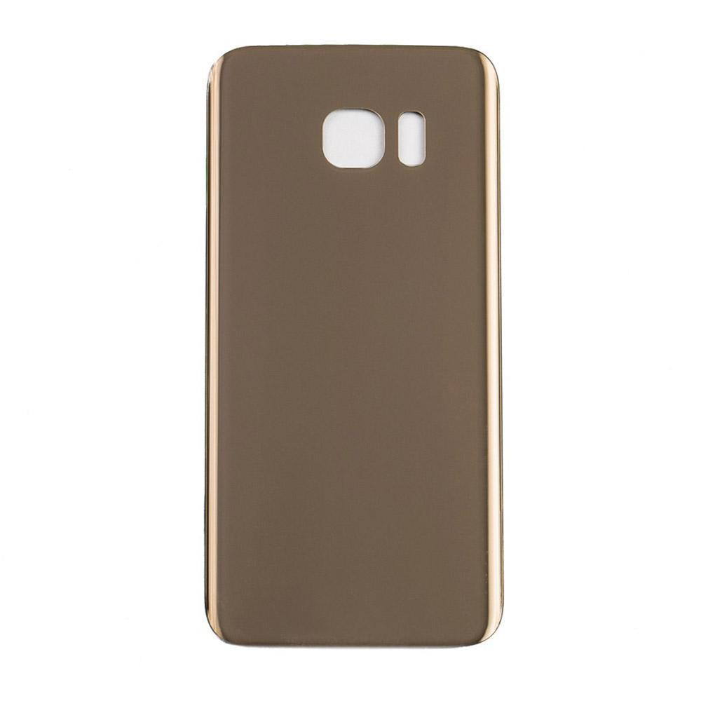 Back Glass For Samsung Galaxy S7 Edge - Gold