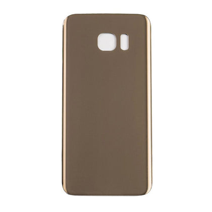 Back Glass For Samsung Galaxy S7 Edge - Gold, Parts, Mobilenzo, MobilEnzo