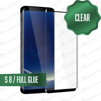 Tempered Glass for Samsung -  Full Glue - S8