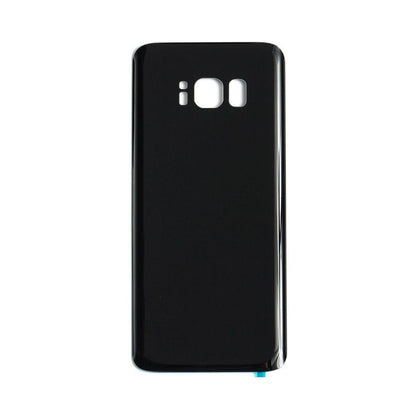 Back Glass For Samsung Galaxy S8 Plus - Black, Parts, Mobilenzo, MobilEnzo