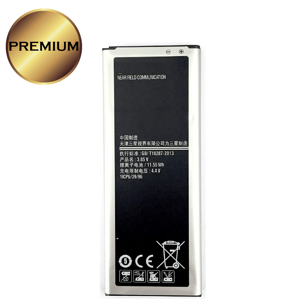 Battery for GALAXY NOTE 4 N910 (Zero Cycle) (Premium)