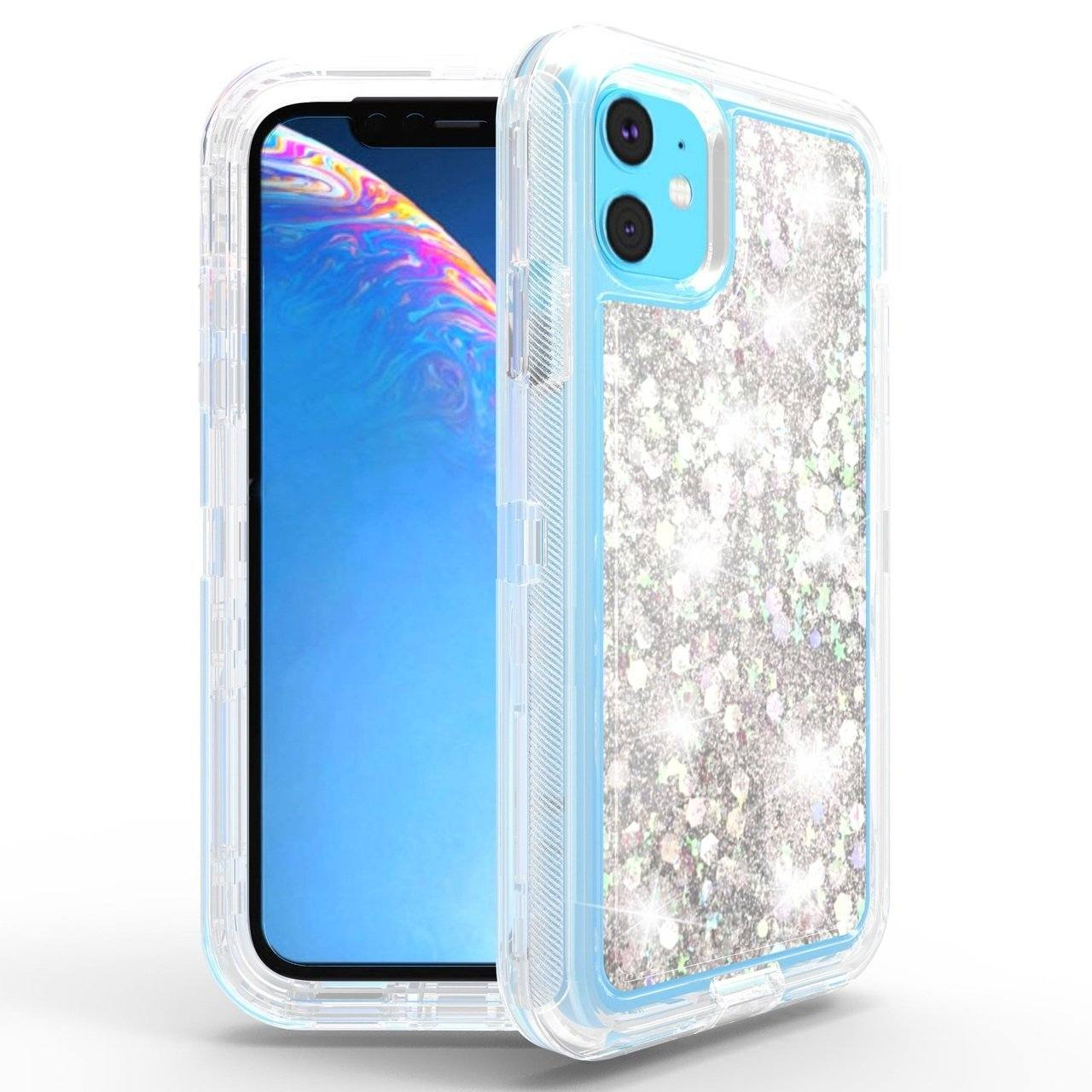 Liquid Protector Case for iPhone 11  - Silver