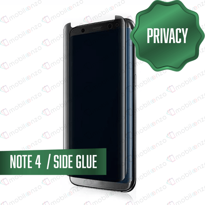 Tempered Glass for Samsung Galaxy Note Series (Privacy) - Note 4