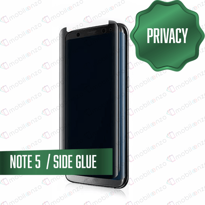 Tempered Glass for Samsung Galaxy Note Series (Privacy) - Note 5