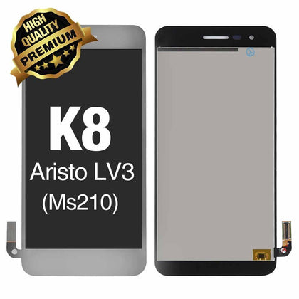 LCD Assembly  for LG K8 2017 (Aristo /  MS210) Without Frame (Premium Quality) - Silver | MobilEnzo