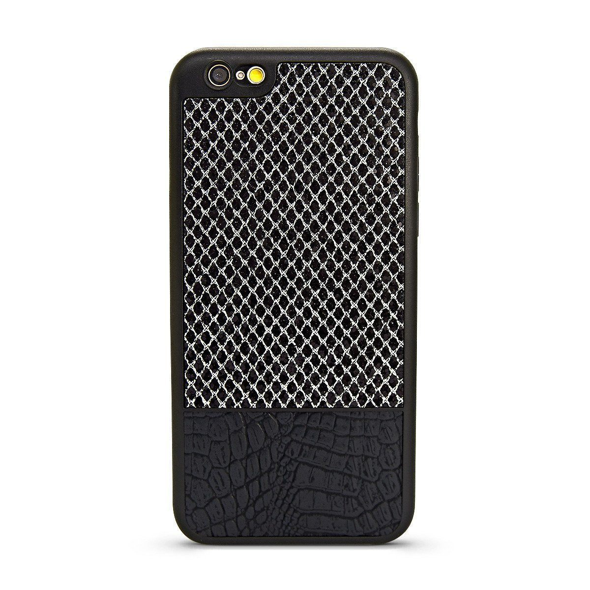 YKB Leather Case for i6 - Silver Diamond