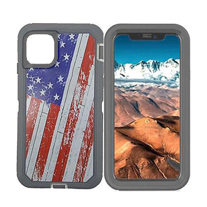 DualPro Protector Case for iPhone 11 - American Flag