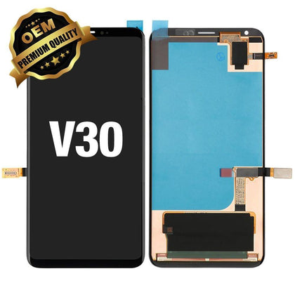 LCD Assembly for LG V30 (Premium Quality) - Black