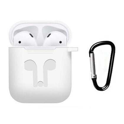 Premium Silicone Case for Apple Airpods - White