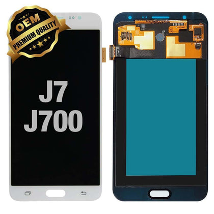 LCD Assembly for GALAXY J7 (J700 / 2015) (Premium) - White