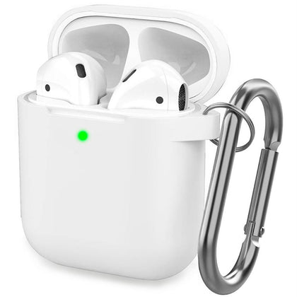 Premium Silicone Case for Apple Airpods - Transparent