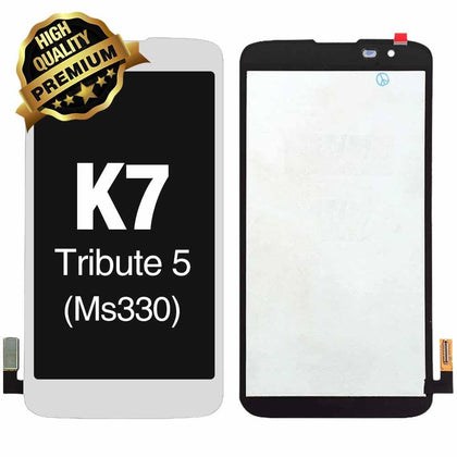 LCD Assembly for LG K7 Tribute 5 (LS675/MS330) (Premium Quality) - White | MobilEnzo