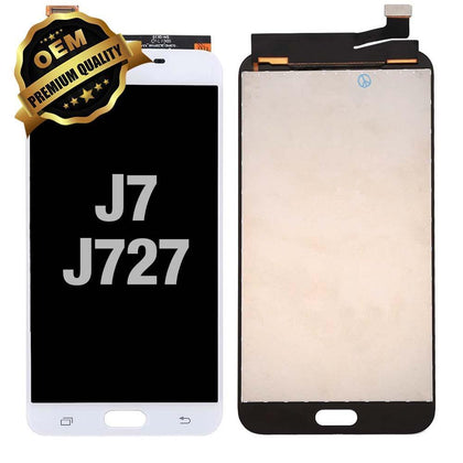 LCD Assembly for GALAXY J7 Prime (J727 / 2017) (Premium) - Silver