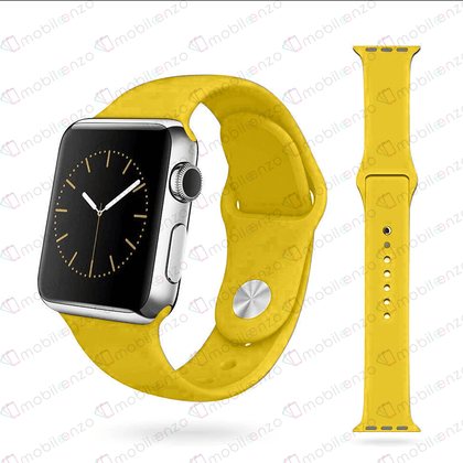 Premium Silicone Bands For iWatch 38mm - Cream
