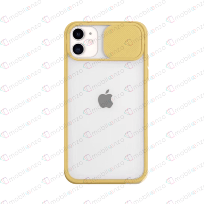 Camera Protector Case for iPhone 11 Pro Max - Yellow