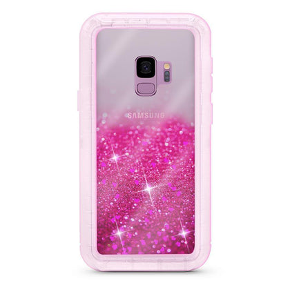 Liquid Protector Case for Samsung Galaxy S9P - Hot Pink