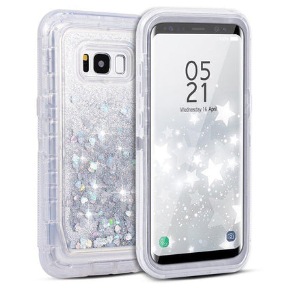 Liquid Protector Case for Samsung S10 Plus - Silver