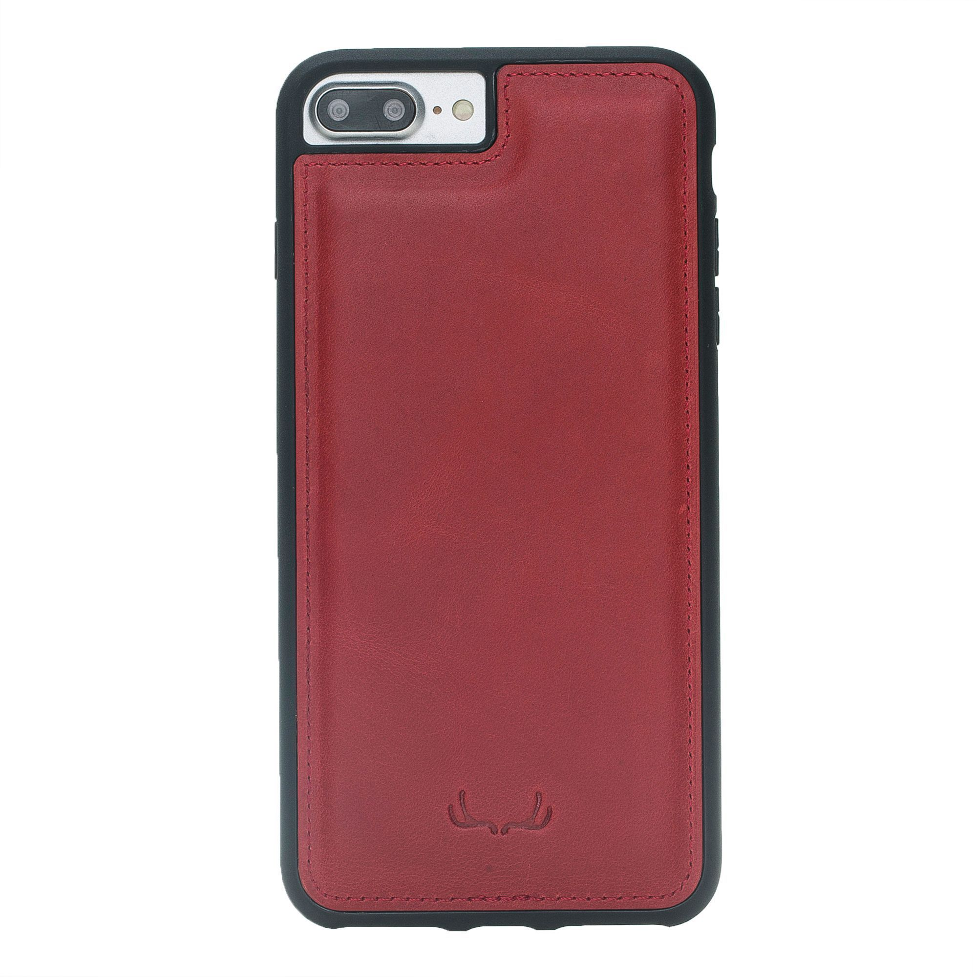 BNT Flex Cover Leather Cases - Crazy - iPhone 7 Plus/ 8 Plus - Red