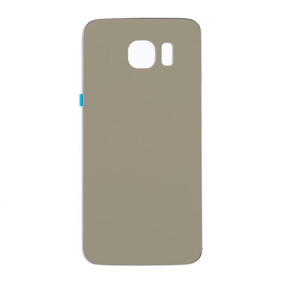 Back Glass For Samsung Galaxy S6 - Gold