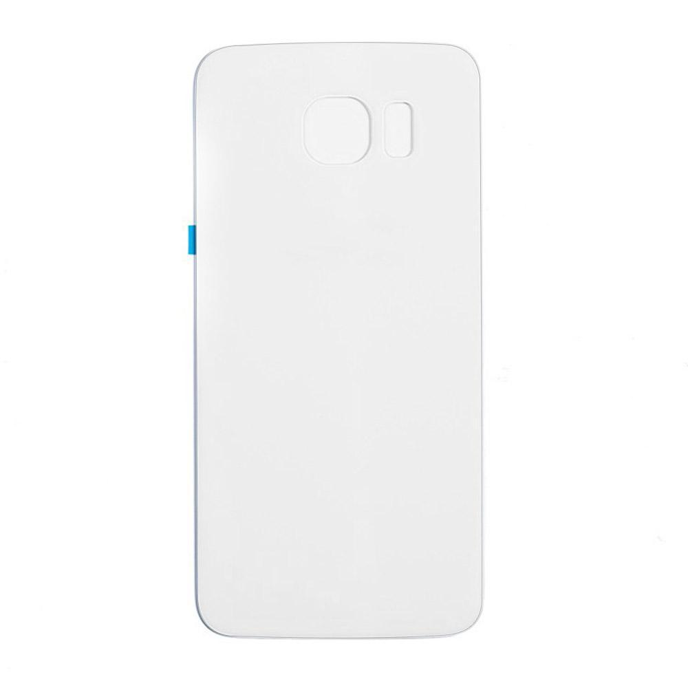 Back Glass For Samsung Galaxy S6 - White