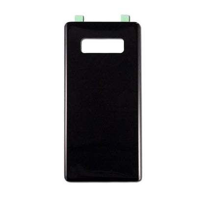 Back Glass For Samsung Galaxy Note 8 - Black, Parts, Mobilenzo, MobilEnzo