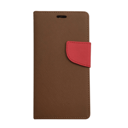 Wing Wallet Case for S6EP - Brown