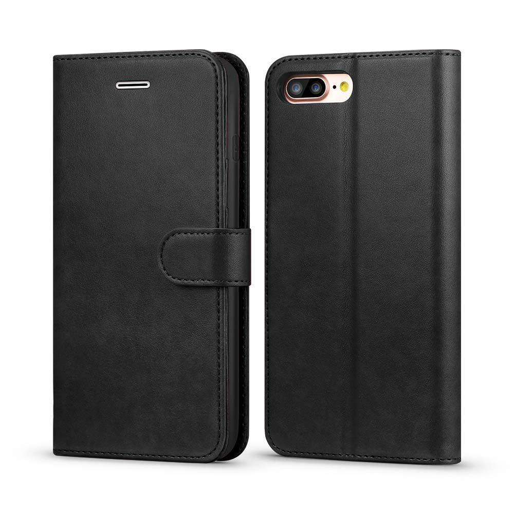 Classic Wallet Case for iPhone 7 Plus - Black