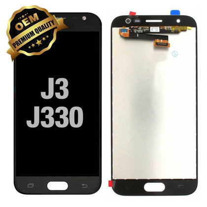 LCD Assembly for Samsung Galaxy J3  (J330 / 2017) - Black