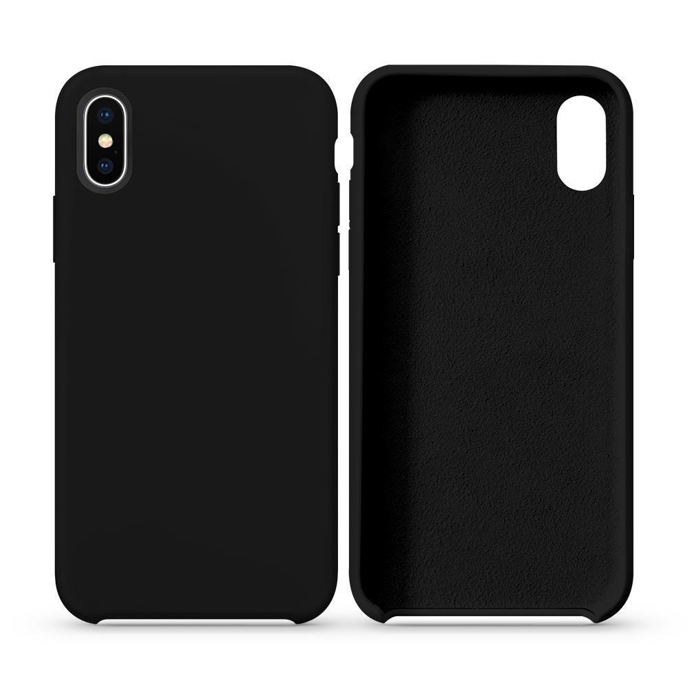 Premium Silicone Case for iPhone XR - Black