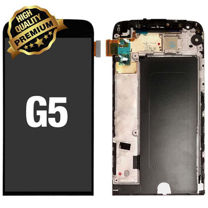 LCD Assembly for LG G5 (Premium Quality) - Black | MobilEnzo