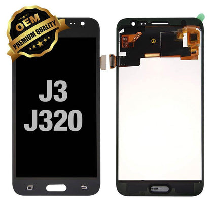 LCD Assembly for Samsung Galaxy J3 (J320 / 2016) - Black | MobilEnzo