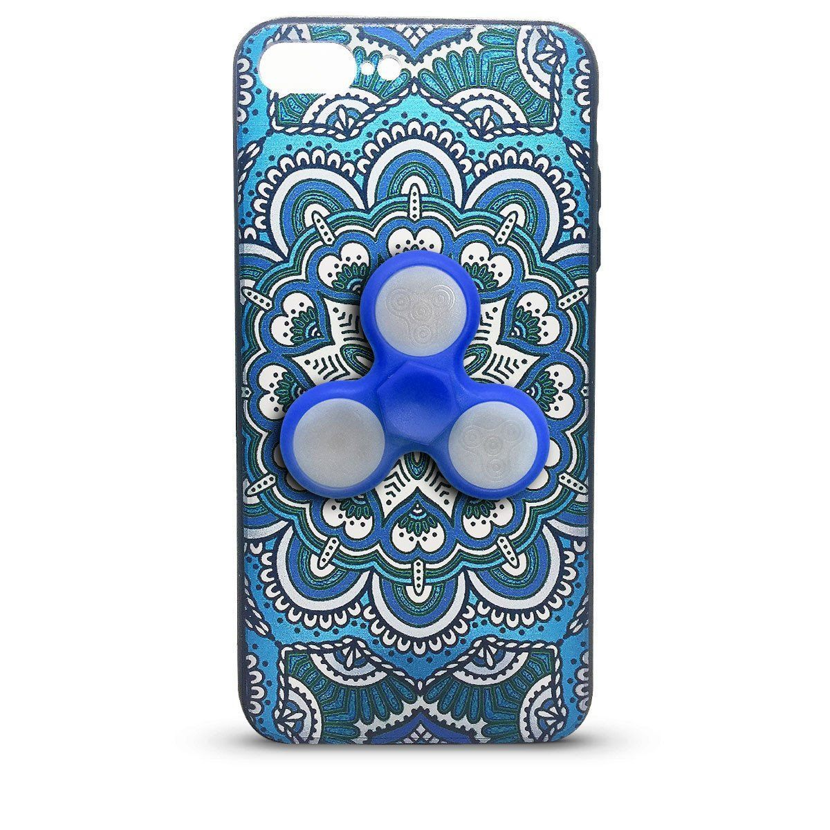 Fidget Case for iPhone 6P - Blue