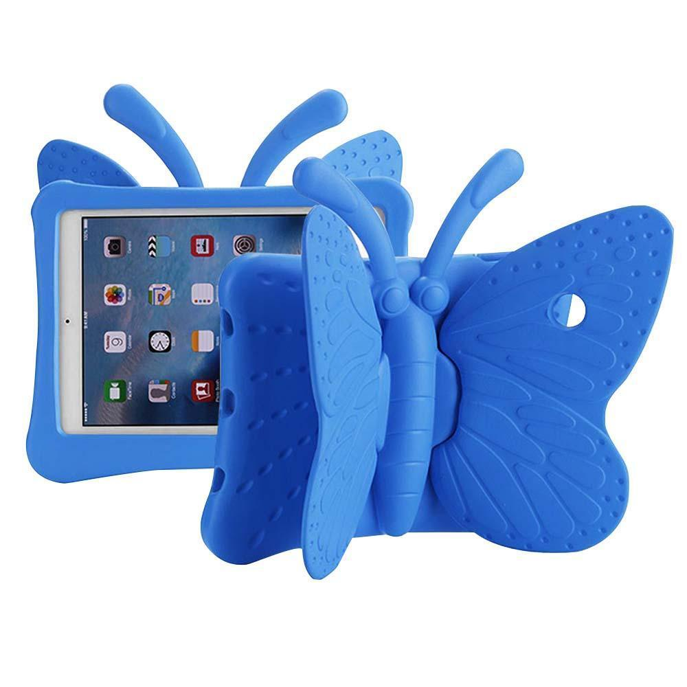 Butterfly Case for iPad Air 1/Air 2/iPad Pro 9.7/ iPad 5 (2017)/iPad 6 (2018) - Blue