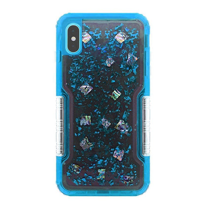 Confetti Protector Case for iPhone Xs Max - Blue