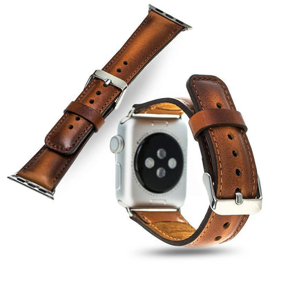 Genuine Leather Watch Band - Rustic, Watch Band, MobilEnzo, MobilEnzo
