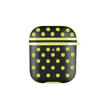 Air Silicone Case for Airpod - Black & Yellow
