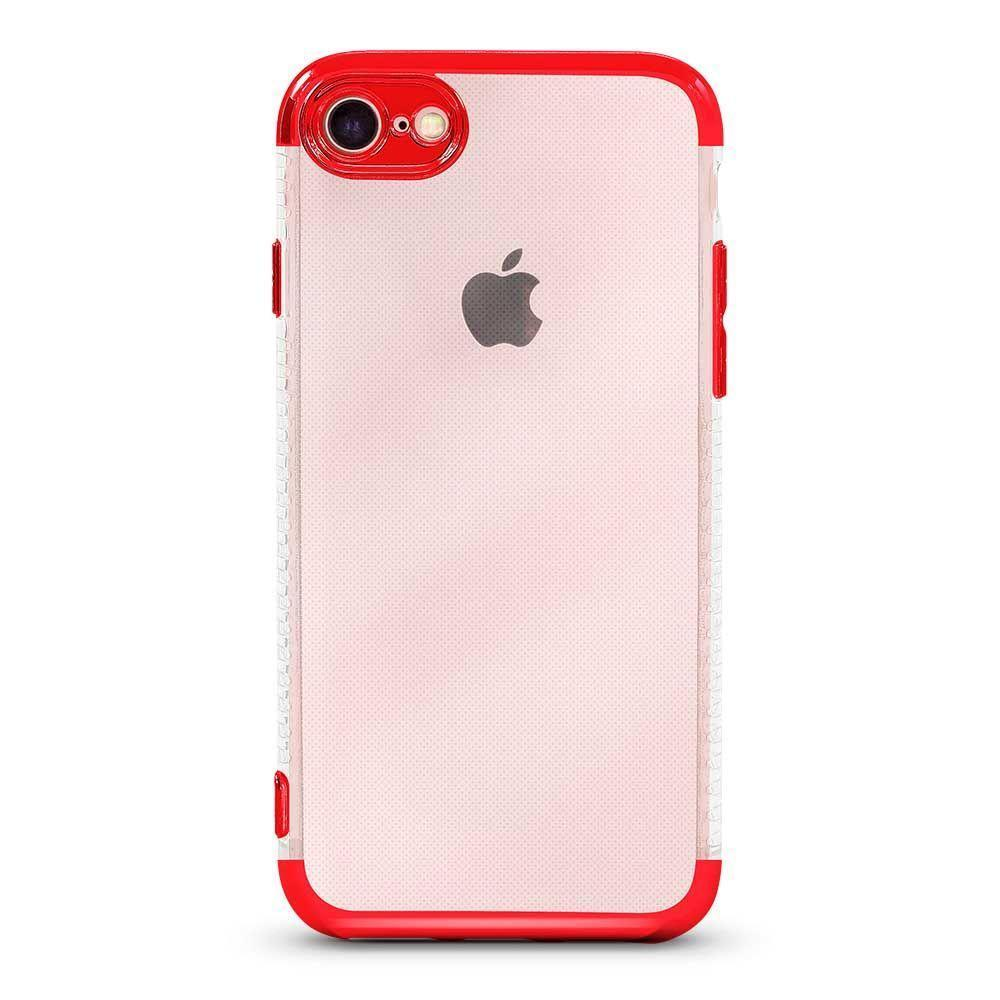 Glossy Edge Case For iPhone 7, 8 - Red
