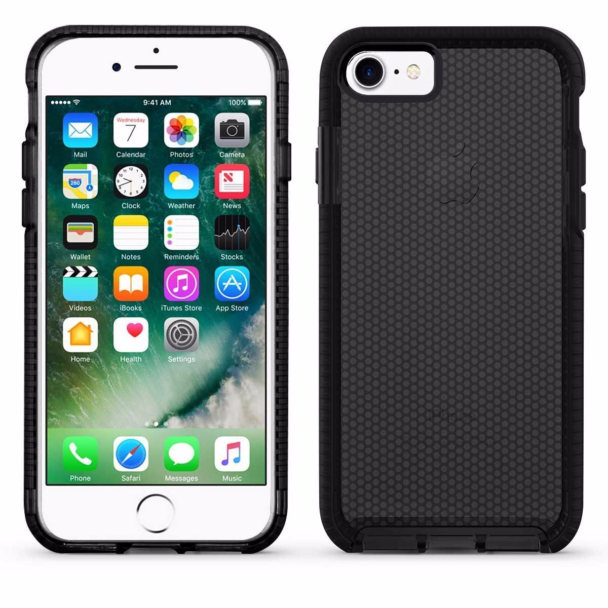 Elastic Dot Case for I6 - Black