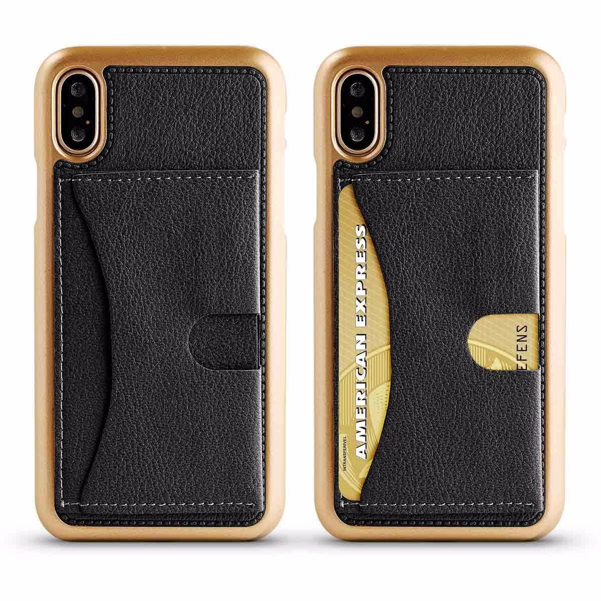 Cubby Case for iPhone X, XS - Black