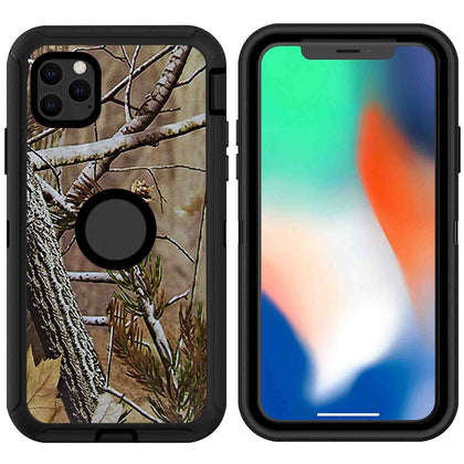DualPro Protector Case for iPhone 11 - Camouflage Black