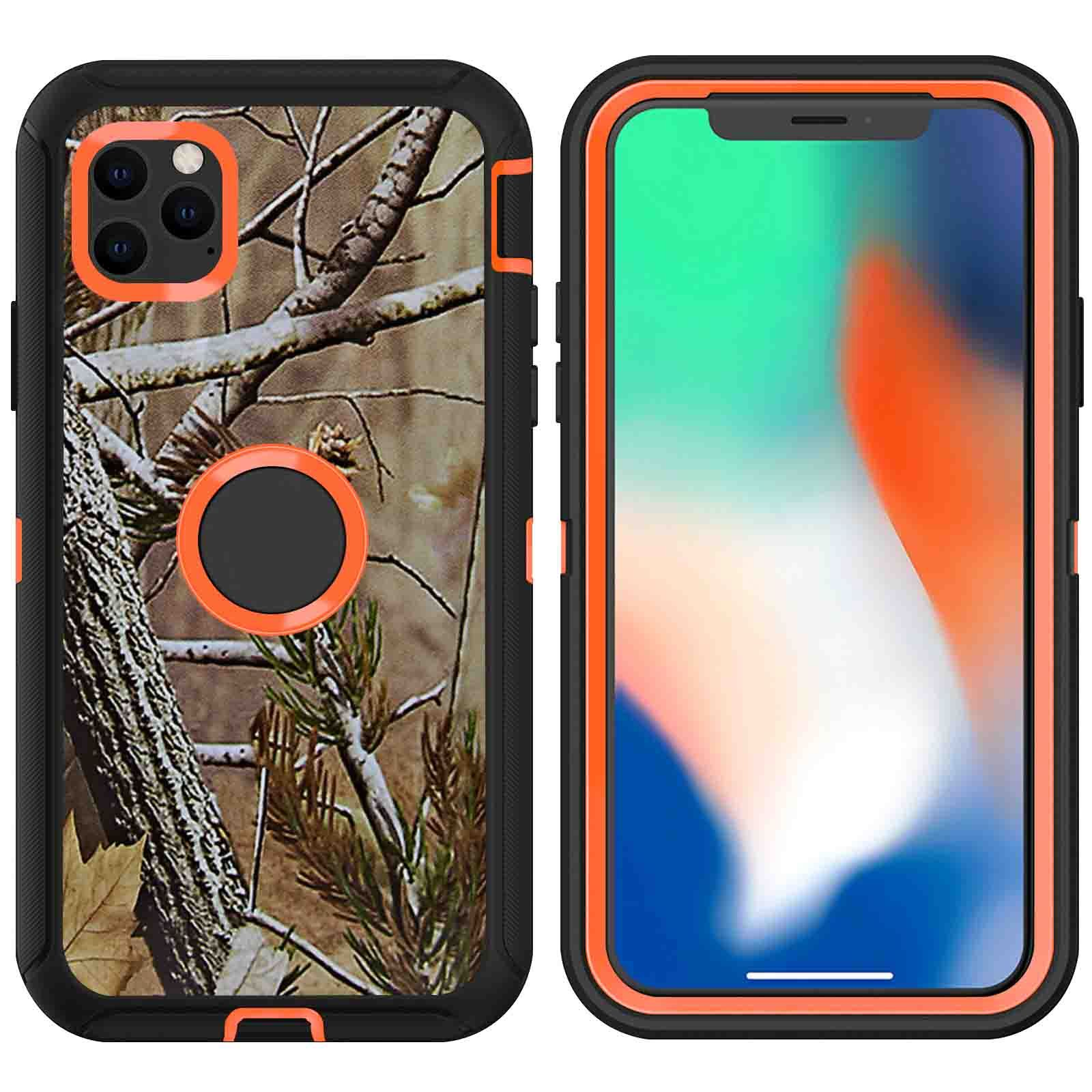 DualPro Protector Case for iPhone 11 Pro - Camouflage Orange