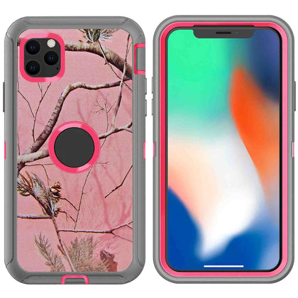 DualPro Protector Case for iPhone 11 - Camouflage Pink