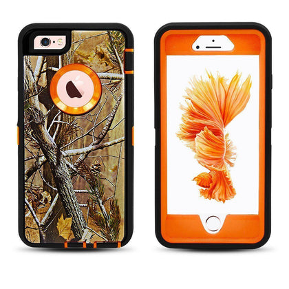 DualPro Protector Case for i7 /8 - Camouflage Orange